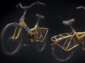 自行车cg模型