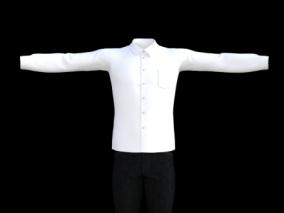 男孩套装   休闲白衬衫  服装