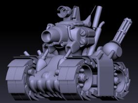合金弹头小坦克