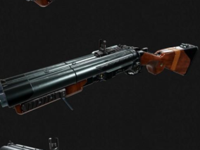 武器cg模型