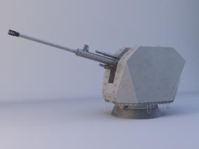 052D型驱逐舰单130毫米舰炮