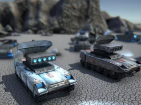 unity模型 坦克 装甲车 火炮 导弹车 军事装备