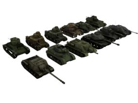 坦克 二战坦克 部队 战争 大炮 装甲车