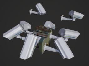 电子设施cg模型