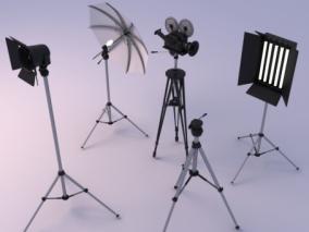 影棚摄影设备组合