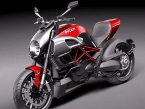 摩托车3d模型