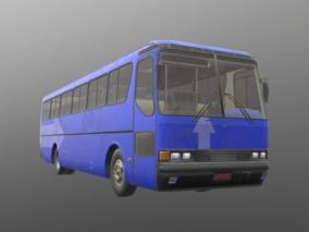 老式大巴车 巴士带绑定