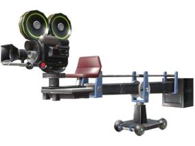 精细摄像机 摇臂 机械臂 吊臂 电影拍摄