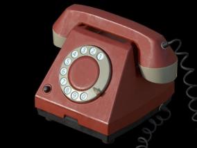PBR老式复古电话