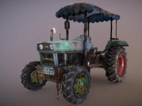 老旧拖拉机  农用设备