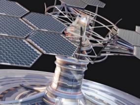 卫星cg模型
