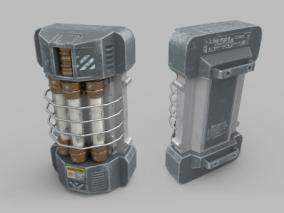 未来生化武器罐 能量罐 手提式炸弹 高质量核弹 核武器装置