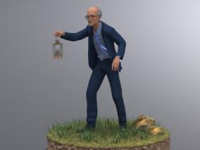 人物cg模型
