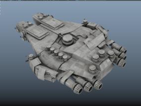 飞船cg模型