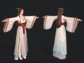 宫女 侍女 贵妇人 宫装美女