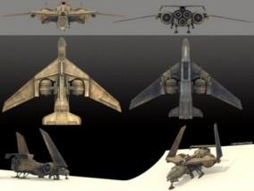 科幻飞船 太空战机