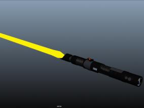 科幻激光剑3d模型