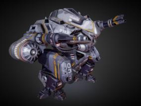 军事战斗机甲  外骨骼  机器人