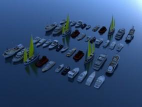 船 船大全 各种船  高模 轮船 游艇 游轮 快艇 小型游艇 快艇 豪华游 皮划艇 帆船