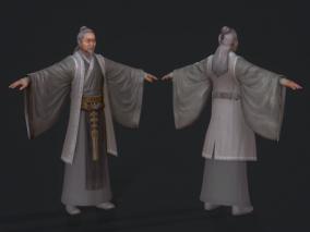 次世代手绘3D角色模型