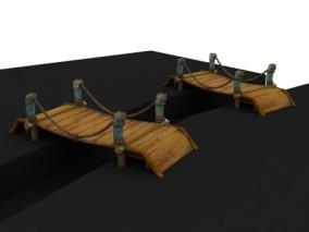 吊桥3d模型