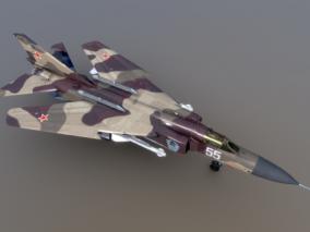 战斗机 飞机cg模型
