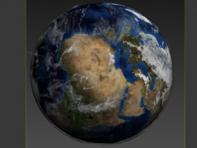 地球 星球 地球模型