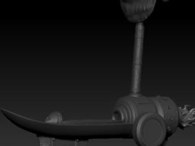 海贼王艾斯火力船3D打印模型