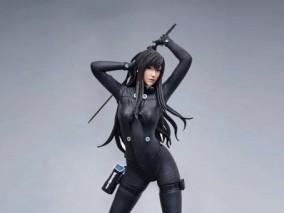 下平玲花人物雕塑3d模型