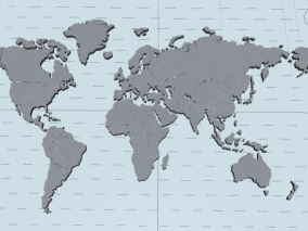板块地图 世界地图 亚欧大陆 地壳运动地球