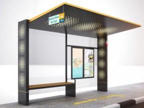 站台3d模型