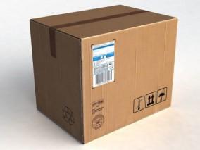 纸箱3d模型