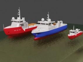 电缆铺设船勘测船