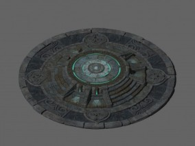 古代传送阵 小平台 传送阵 台面地面地表砖块 平台
