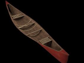 独木舟 小船 渔船