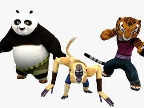 功夫熊猫角色