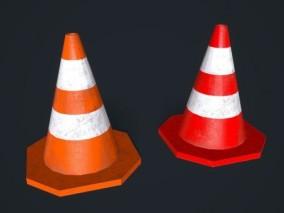 低聚锥型交通路障