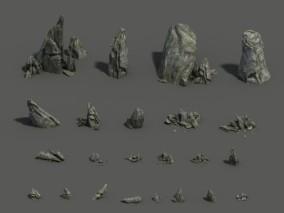 岩石3d模型