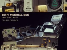 科幻医疗床
