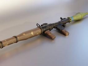 精密写实RPG火箭筒
