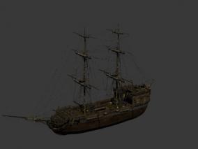 欧洲 大航海 一战 战船 海盗船 加勒比海盗  炮台船  帆船