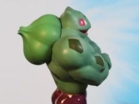 神奇宝贝 健身桑 妙蛙种子