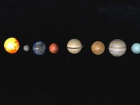 八大行星 水星 金星 地球 火星 木星 土星 天王星 海王星