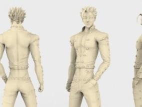 七大罪班3D打印模型