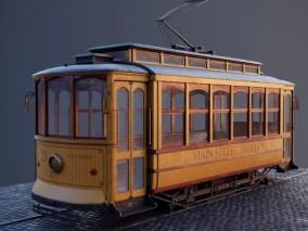 老式轨道电车