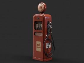 旧燃油加油机