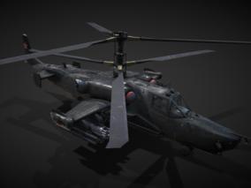 黑鲨武装直升机