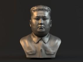 金正恩头像雕塑