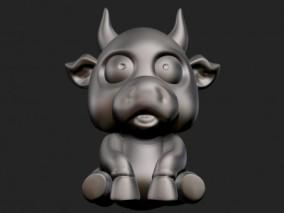 牛年 公牛雕塑