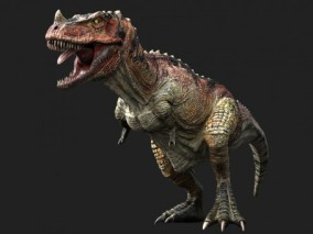 超写实霸王龙3d模型